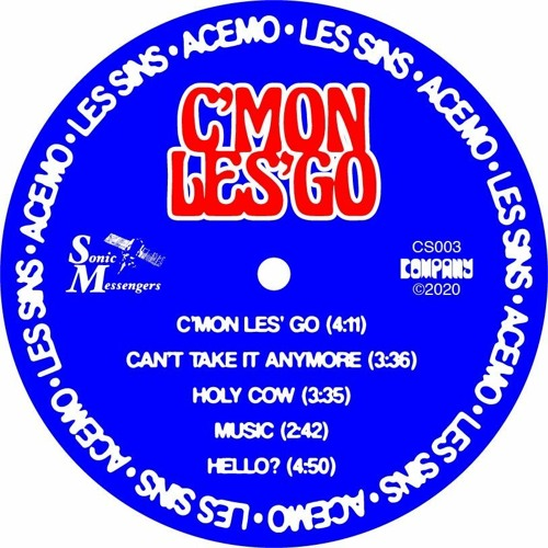 Can't Take It Anymore (AceMo & Les Sins) - SM0001