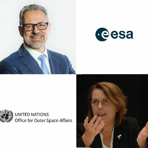 ESA & UNOOSA on space debris: Directors Josef Aschbacher and Simonetta di Pippo in conversation