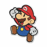 Super Paper Mario Soft Light Remix