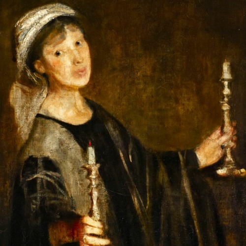 Lily Delissa Joseph Self-Portrait with Candles