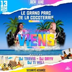 DJ TRAVIS - DJ DAYV - DJ TI WILL (Viens T'amuser Au Grand Parc de la cocoteraie) MIX
