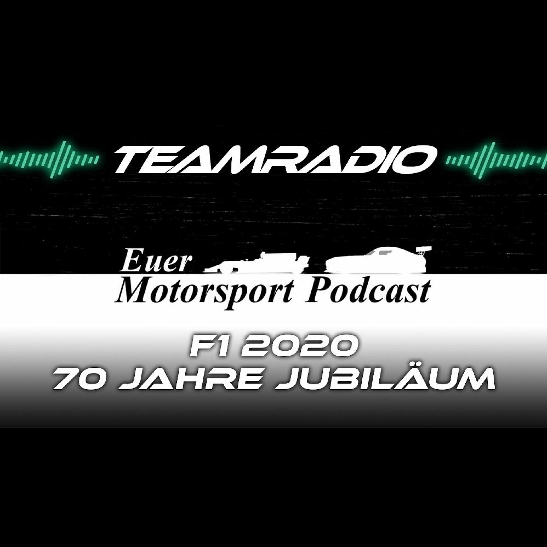 F1 2020 70 Jahre Jubiläum GP Review | Da gewinnt plötzlich Red Bull! | TeamRadio Podcast