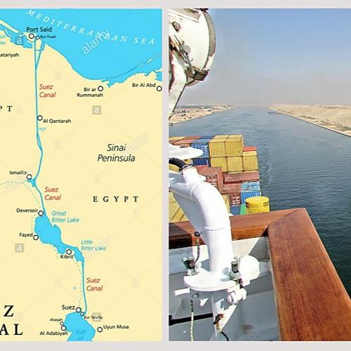 Vor 65 Jahr, Suezkanal