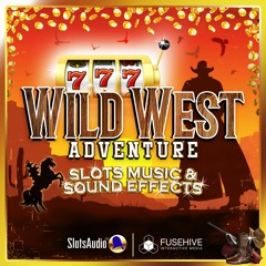 Wild West Slots Sound Effects Library, Casino Gambling Western Cowboy Slot Game Sounds Music Preview