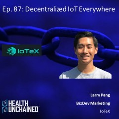 Ep. 87: Decentralized IoT Everywhere - Larry Pang (IoTeX)