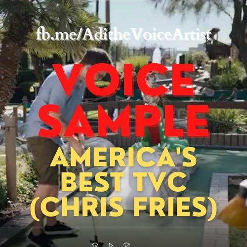 TVC American English America's Best Chris Fries