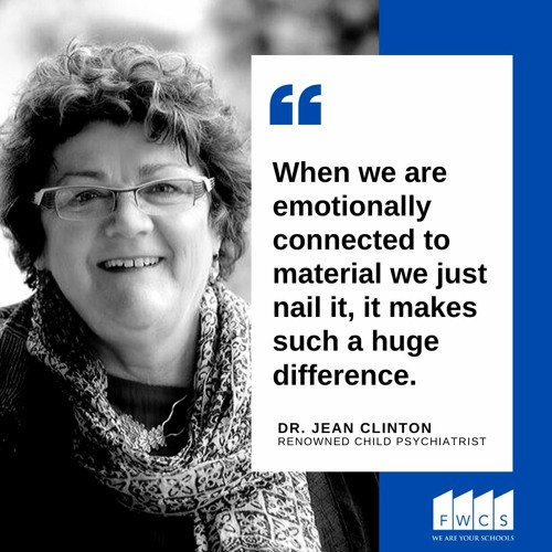 FWCS InspirED Voices Podcast Episode 20 - Dr. Jean Clinton