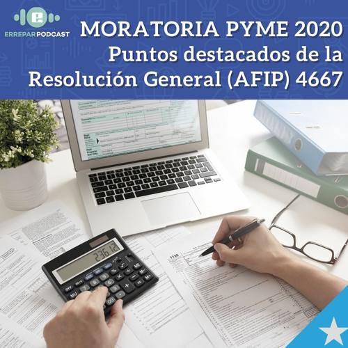 Moratoria PYME 2020