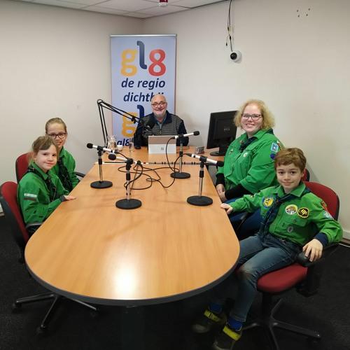 Welpentak Scouting 100 Jaar – Colette Van Nistelrooij & Welpen
