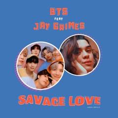BTS feat/duet JAY GRIMES - SAVAGE LOVE   Remix Mashup