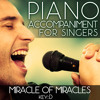 Miracle of Miracles (Piano Accompaniment of Fiddler on the Roof - Key: D) [Karaoke Backing Track]