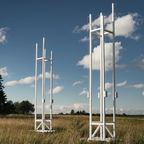 Aeolian Windharp Installation At Copper Leg