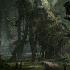 Ancient mystical swamp