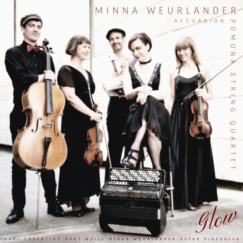 GLOW Minna Weurlander & Pomona String Quartet