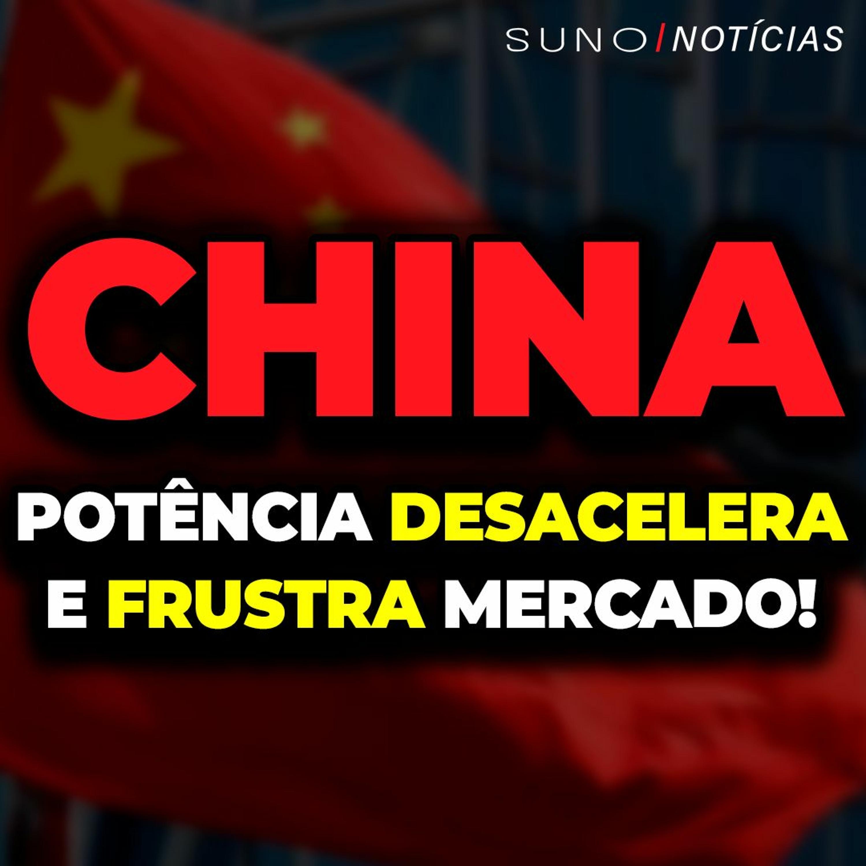 CHINA: Economia desacelera e frustra mercado!   Lojas Americanas (LAME4) dispara com reorganização