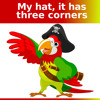 my hat it has three corners brass version