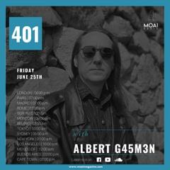 🔵🔵🔵MOAI Platform | Podcast 401 | Albert G45M3N | Spain