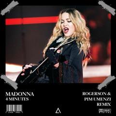 Madonna ft. Justin Timberlake & Timbaland - 4 Minutes (Rogerson & Pim Umenzi Remix) [FREE DOWNLOAD]