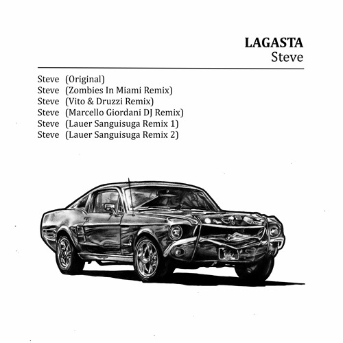 1 - LAGASTA - Steve (Original Mix) - 44k16b - Mastered At The Wall - M1