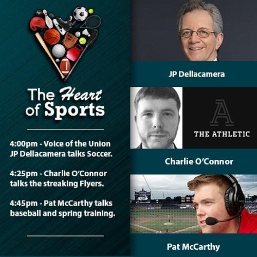 The Heart of Sports w Jason Springer & Jeff Cohen: JP Dellacamera, Charlie O'Connor & Pat McCarthy