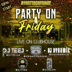 LiveAudio: HIP HOP > DRILL 2021 (Digga D, Pop Smoke & More)  #PartyOnAFriday   @DJDYNAMICUK