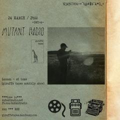 Giraffe Tapes - Lamasz at home [24.03.2021]