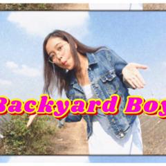 Backyard Boy- Cover