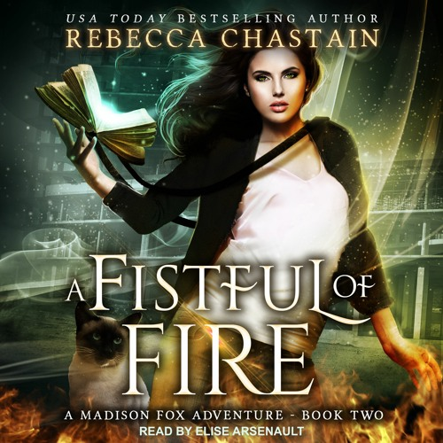 A Fistful of Fire, Madison Fox Adventures Book 2