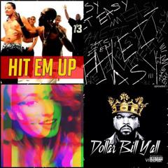 2Pac Hit Em UP vs ICE Cube 100 dollar ya VS instrumentals Letal+Rafagas + Talento+Samurai K8ndremix