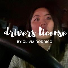 drivers license - olivia rodrigo   sophia miranda covers