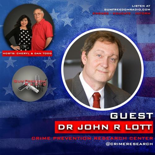 GunFreedomRadio EP341 Political Statistical Trickery with John Lott