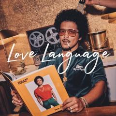 "R&B x Bruno Mars x Anderson .Paak x Silk Sonic Type Beat - ""Love Language"" Funk Guitar Instrumental"