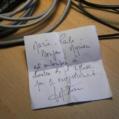 Foudre. Chant II. Myriam Pruvot