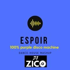 DJ ZICO  ESPOIR   100% PURPLE DISCO MACHINE