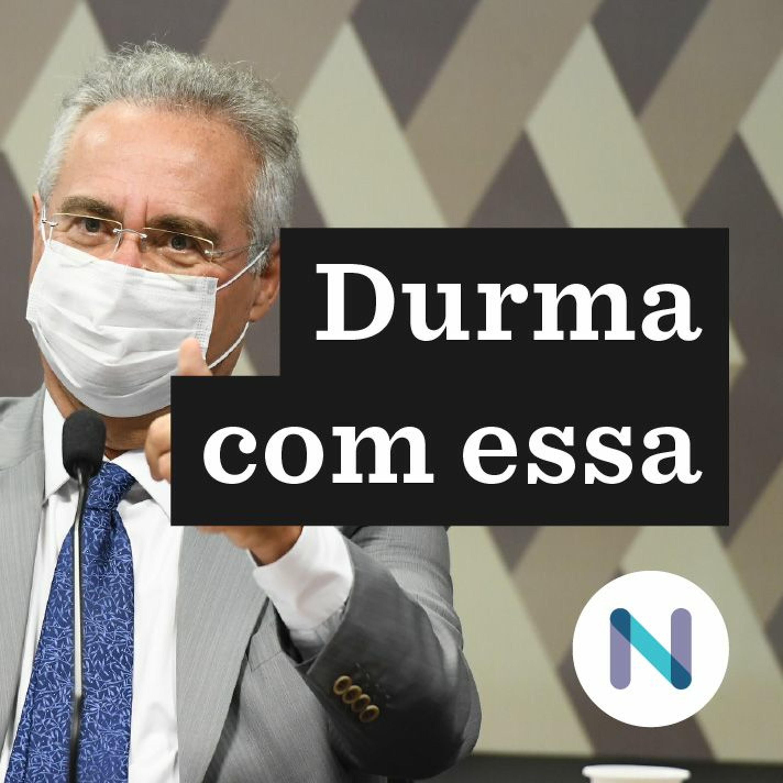 O potencial de Renan Calheiros para fustigar Bolsonaro   27.abr.2021