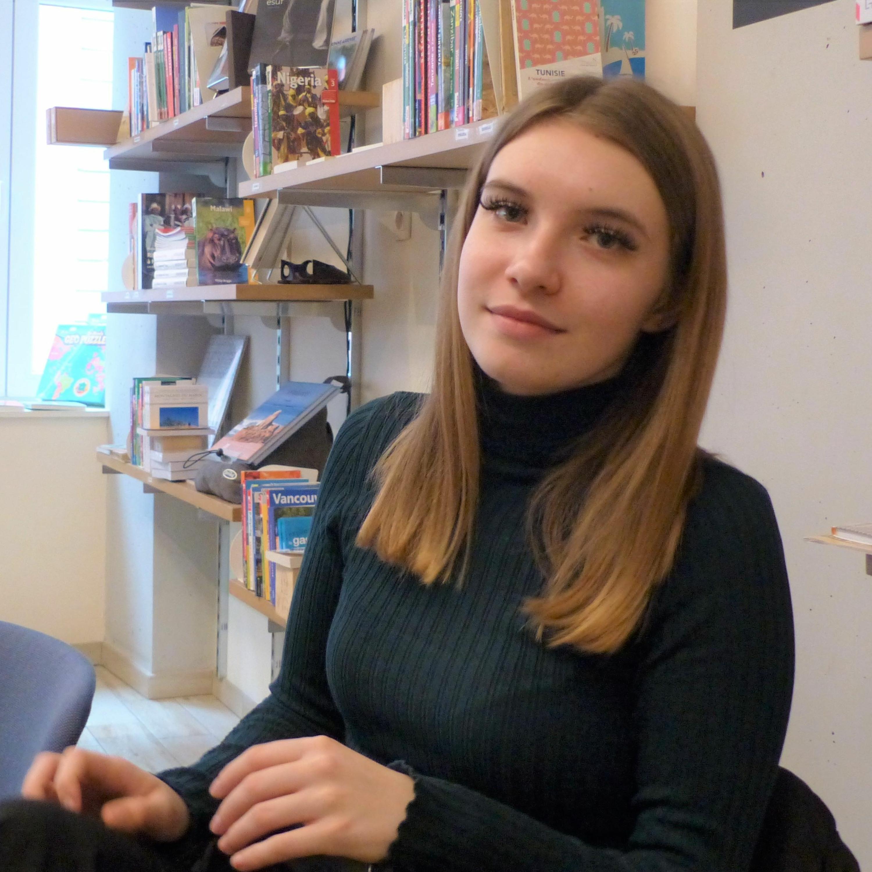 Cécilia, jeune artiste talentueuse qui fera bientot parler d'elle