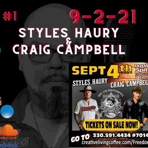 #3:1 Styles Haury & Craig Campbell
