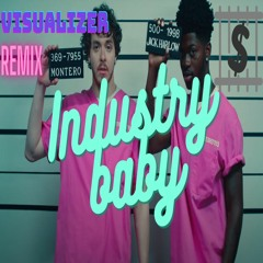 Lil Nas X, Jack Harlow - INDUSTRY BABY(Visualizer Dubstep/Future Bass  Remix)
