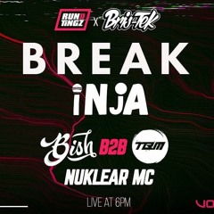 Bish B2b TBM Ft Nuklear MC - Bris-Tek at Run Tingz TV - Live 16th March 2021
