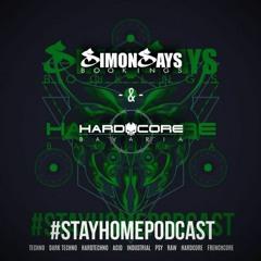 #Stayhomepodcast by:  DinaDarkshine (Hard Industrial Techno }