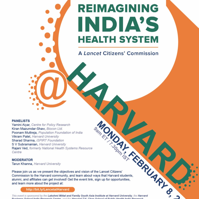 Lancet Citizen's Commission for Reimagining India's Health