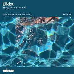 Elkka: Songs for the summer - 09 June 2021