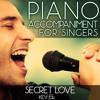 Secret Love (Piano Accompaniment of Doris Day - Key: Eb) [Karaoke Backing Track]