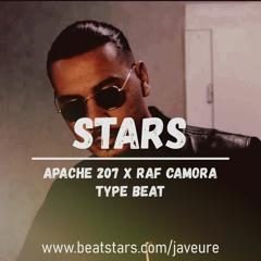 "APACHE 207 x RAF CAMORA - ""STARS"" (prod. Javeure)   Afrotrap Dancehall Instrumental"