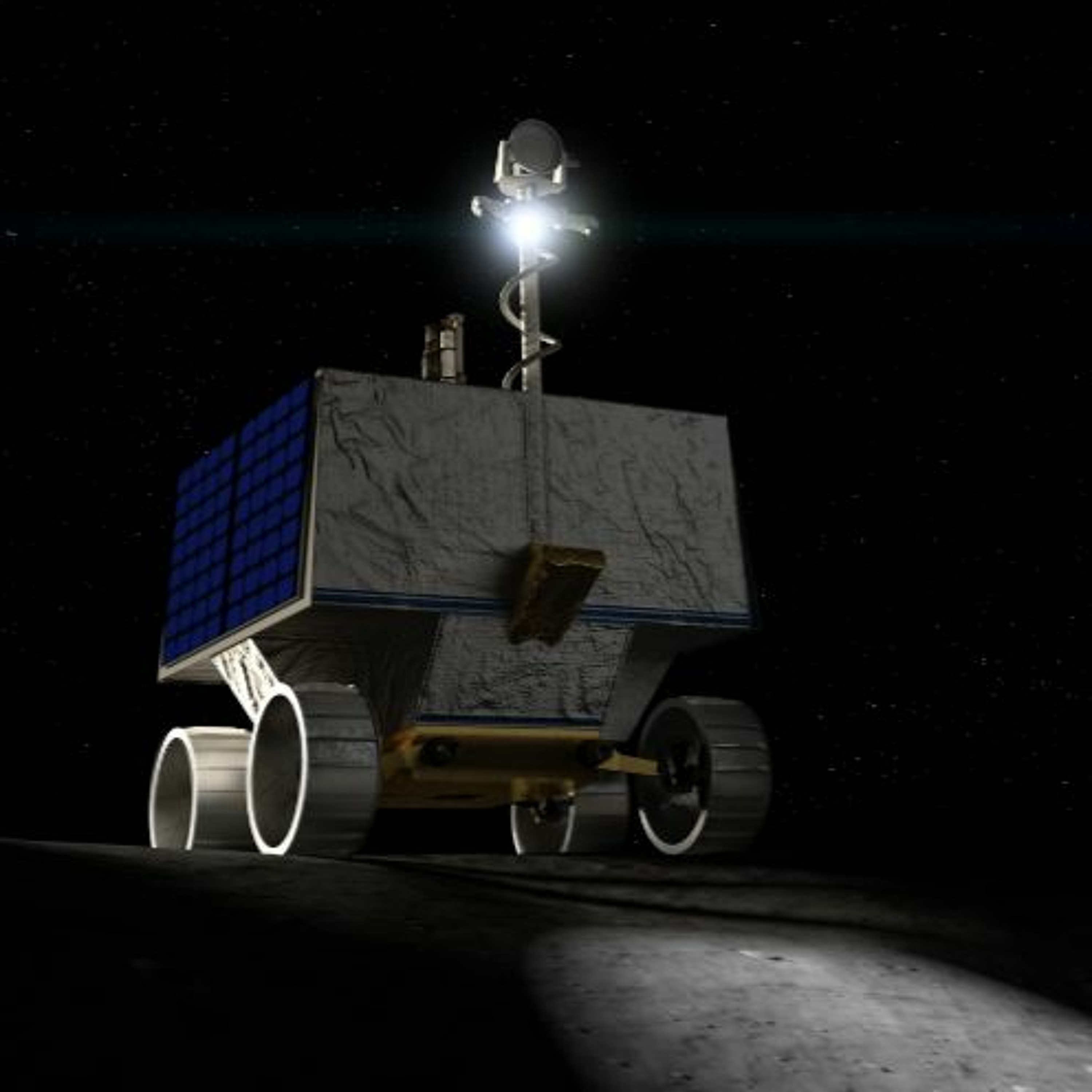 The Lunar VIPER rover and the space economy