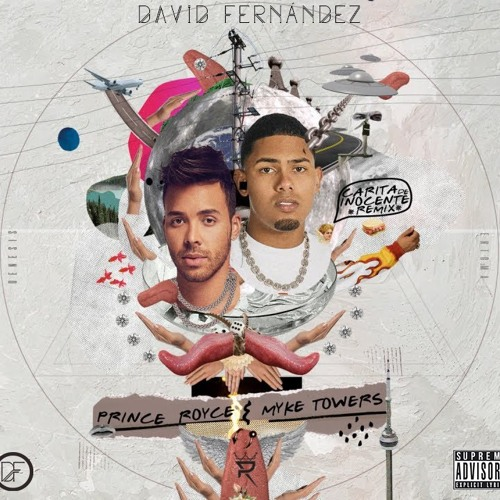 Prince Royce & Myke Towers - Carita De Inocente (David Fernández Remix)