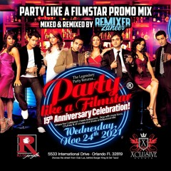 Party Like A Filmstar 2021 Promo CD - mixed & remixed by Remixer Zaheer