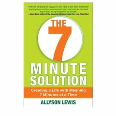 Podcast 860: The 7 Minute Solution with Allyson Lewis