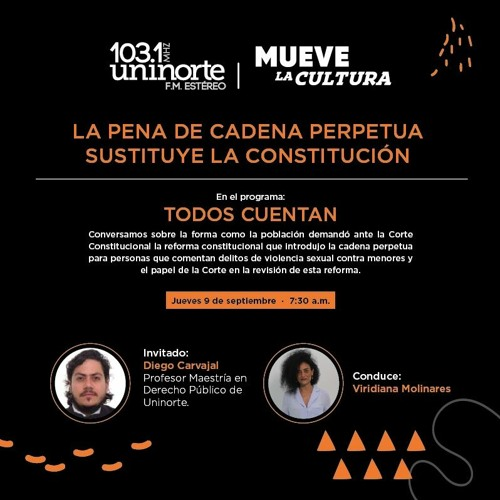 """En:"""" TODOS CUENTAN"""": La pena de cadena perpetua  sustituye la Constitución"""