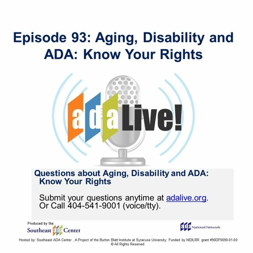 Episode 93: Aging, Disability and ADA: Know Your Rights